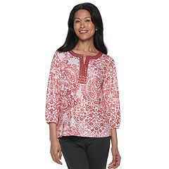 Women's Cathy Daniels Embellished Paisley Top