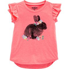 Toddler Girl OshKosh B'gosh® Ruffle Graphic Tee