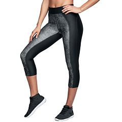 Women's Under Armour High Waisted HeatGear Print Capri Leggings