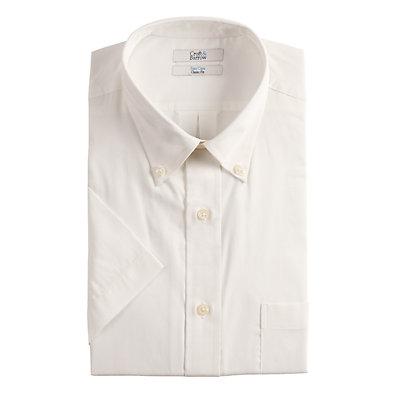 Men's Croft & Barrow® Classic-Fit Easy-Care Short-Sleeved Dress Shirt
