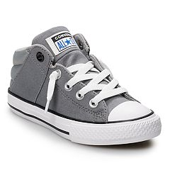 4a6c451a605ff6 Boys  Converse Chuck Taylor All Star Axel High Top Sneakers. Black Red Grey  Blue
