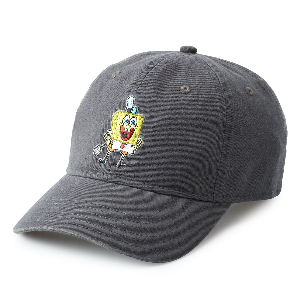 Mens Teen Guys Licensed Character SPONGEBOB DAD CAP