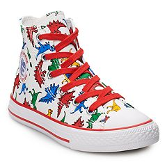 6e6cd9bee56a3a Boys  Converse Chuck Taylor All Star Dinoverse High Top Shoes