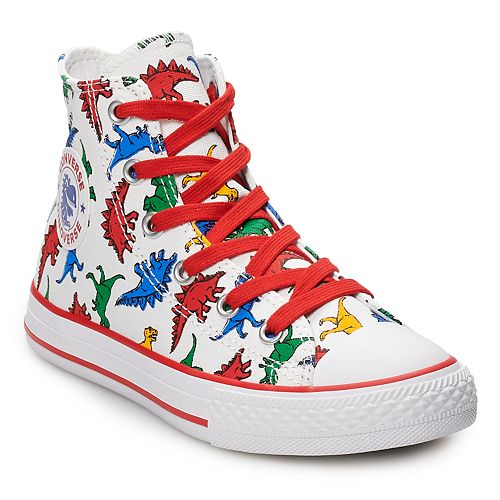 9f7fefb1a2aad Boys  Converse Chuck Taylor All Star Dinoverse High Top Shoes