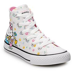 Girls  Converse Hello Kitty® Chuck Taylor All Star High Top Shoes 32d8385b0