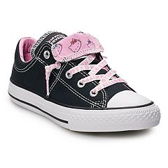 85f7f6b4e4a0 Girls' Converse Hello Kitty® Chuck Taylor All Star Madison Double Tongue  Sneakers