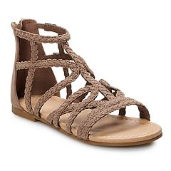SO® Girls' Gladiator Sandals