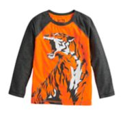 Boys 4-12 Jumping Beans® Tiger Raglan Softest Active Tee
