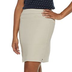 Women's Croft & Barrow® Effortless Pull-On Skort