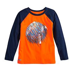 Boys 4-12 Jumping Beans® Metallic Baseball Raglan Active Tee