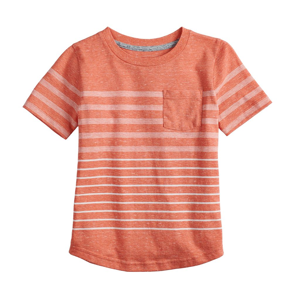 Boys 4-12 SONOMA Goods for Life® Striped Pocket Tee