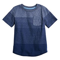 Boys 4-12 SONOMA Goods for Life™ Ombre Striped Pocket Tee