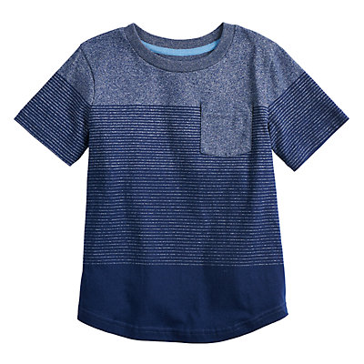 Boys 4-12 SONOMA Goods for Life? Ombre Striped Pocket Tee