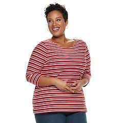 Plus Size Croft & Barrow® Texture Top