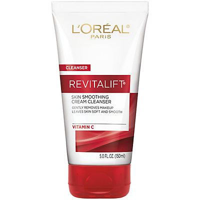 L'Oreal Paris Revitalift Radiant Smoothing Facial Cream Cleanser