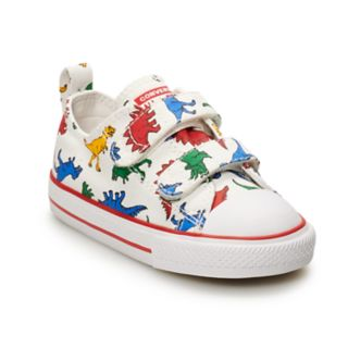 Boys' Converse Chuck Taylor All Star 2V Dino Sneakers