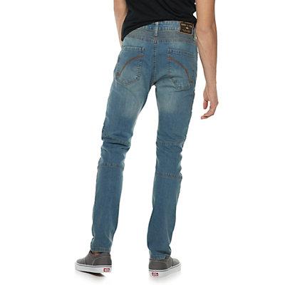 Men's Ring of Fire Slim-Fit Moto Jeans