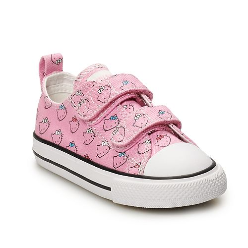 Toddler Girls  Converse Hello Kitty® Chuck Taylor All Star 2V Sneakers dc3c4164c