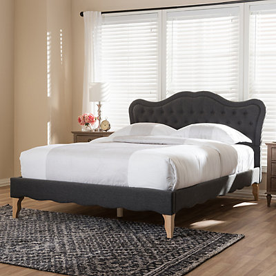 Baxton Studio French Style Platform Bed