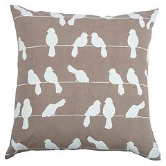 Rizzy Home Claire Birds Pillow