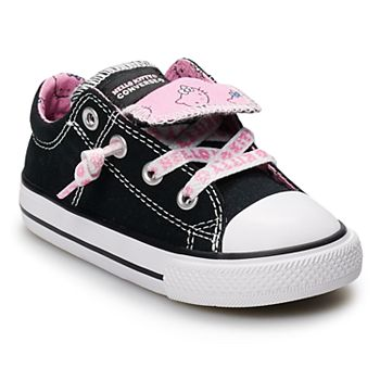 6327e94ccd3944 Toddler Girls  Converse Hello Kitty® Chuck Taylor All Star Madison Double  Tongue Sneakers