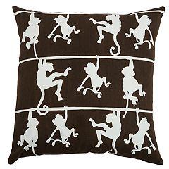 Rizzy Home Caroline Monkey Pillow
