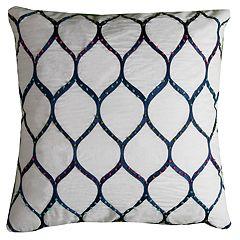 Rizzy Home Cassandra Leafshape Pillow