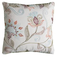 Rizzy Home Christina Floral Pillow