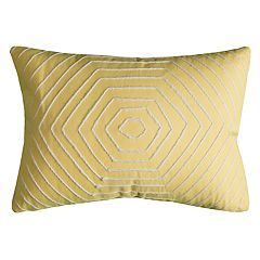 Rizzy Home Christine Hexigons Pillow