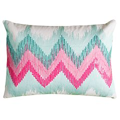 Rizzy Home Crystal Chevron Pillow