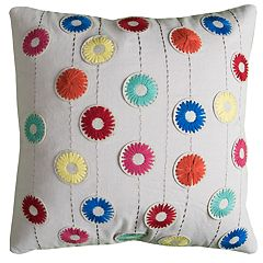 Rizzy Home Carol Floral Pillow