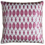 Rizzy Home Candice Oval Sequins Pillow