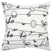 Rizzy Home Camilla Christmas Ornaments Pillow