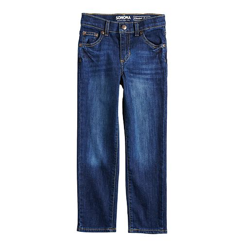 Boys 4-12 SONOMA Goods for Life™ Straight Jeans