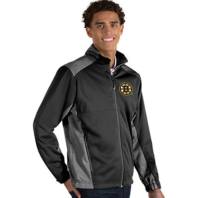 Antigua Men's Revolve Boston Bruins Full Zip Jacket