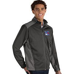 Antigua Men's Revolve New York Rangers Full Zip Jacket