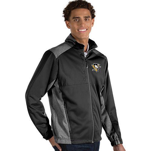 Antigua Men's Revolve Pittsburgh Penguins Full Zip Jacket