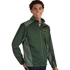 Antigua Men's Revolve Minnesota Wild Full Zip Jacket