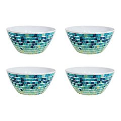 Celebrate Summer Together 4-pc. Cool Mosaic Cereal Bowl Set