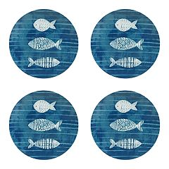 Celebrate Summer Together 4-pc. Coastal Salad Plate Set