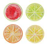 Celebrate Summer Together 4-pc. Fruit Salad Plate Set