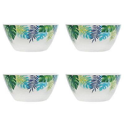 Celebrate Summer Together 4-pc. Palm Cereal Bowl Set