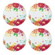 Celebrate Summer Together 4-pc. Floral Salad Plate Set