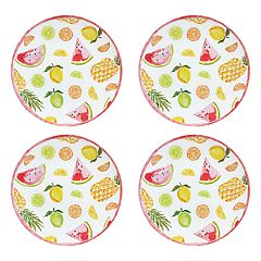 Celebrate Summer Together 4-pc. Fruit Toss Dinner Plate Set