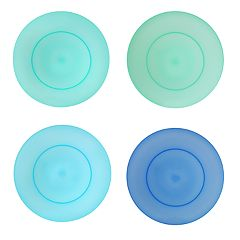 Celebrate Summer Together 4-pc. Cool Colors Dinner Plate Set