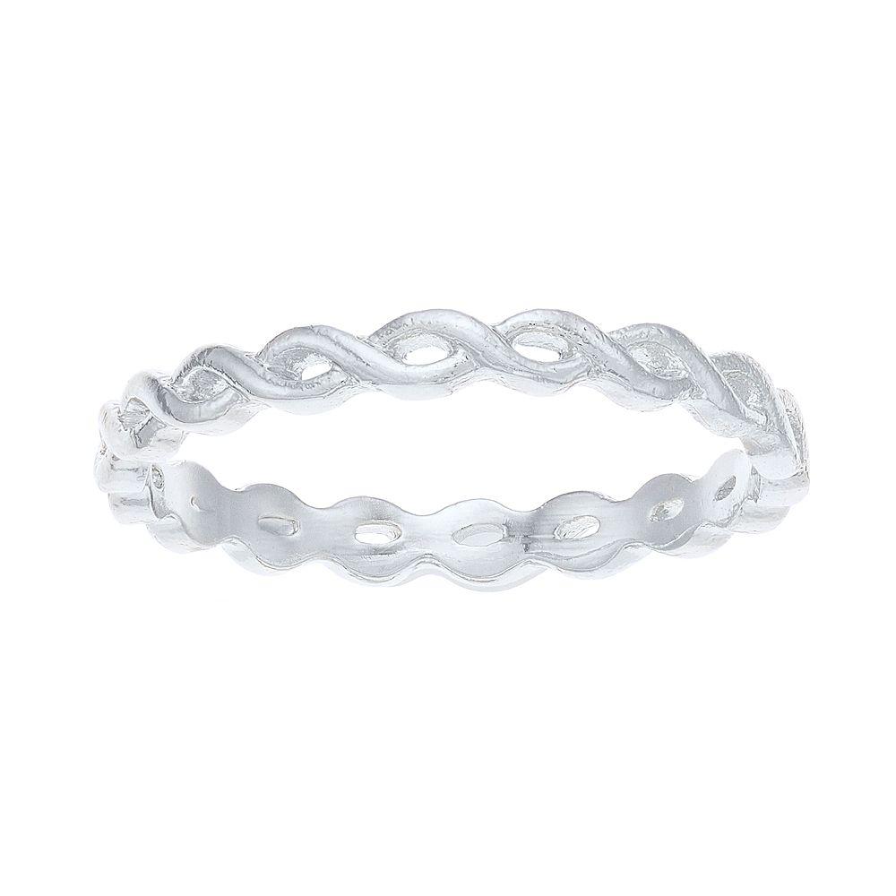 LC Lauren Conrad Braided Ring