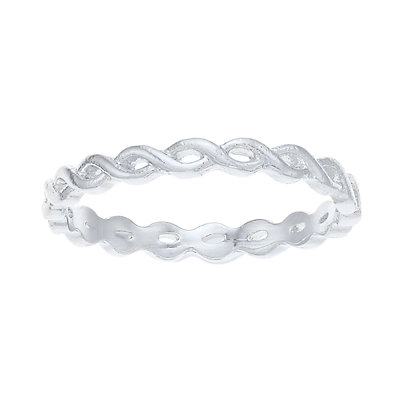 LC Lauren Conrad Braided Ring