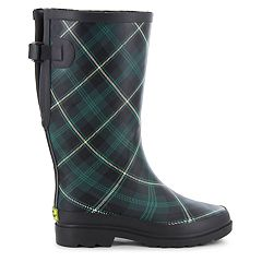 Western Chief Coreen Plaid Women's Vari-Fit Rain Boots