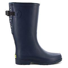 e65118ae9 Western Chief Coreen Plaid Women s Vari-Fit Rain Boots. Evergreen Navy. sale