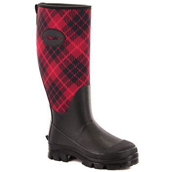 Western Chief Lumber Plaid Winterprene Women's Cold Weather Boots